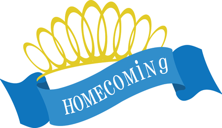homecoming: I love the princess crown which looks very elegant and beautiful feels very special on embroidery designs