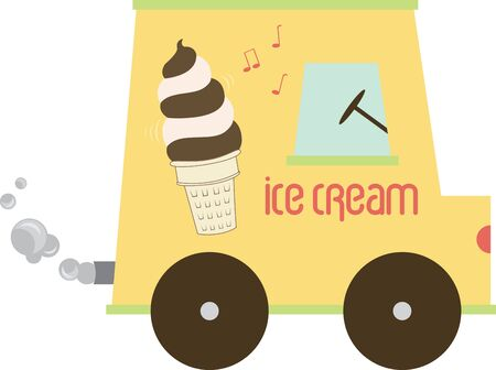 soft serve ice cream: A soft ice cream truck sells soft serve ice cream instead of prepackaged novelties alone.