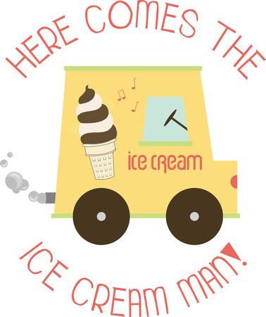 novelties: A soft ice cream truck sells soft serve ice cream instead of prepackaged novelties alone.