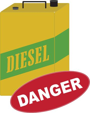 The Diesel Can is ideal for carrying in your vehicle boot for an emergency.