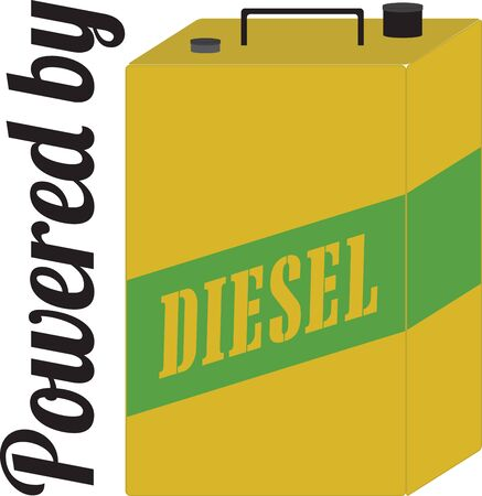 diesel: The Diesel Can is ideal for carrying in your vehicle boot for an emergency.