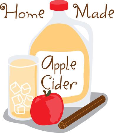 刺繍パターンでこのデザインと生りんごの健康な利点をつかみます。  イラスト・ベクター素材