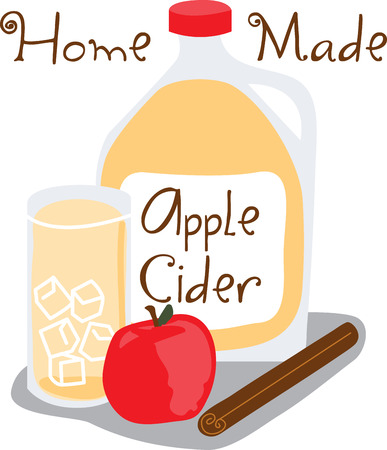 Grab the healthy benefits of raw apples with this design by Embroidery patterns.
