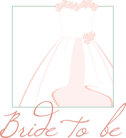 evening gown: Look Elegant on your Special day of wedding with this bridal dress designed by Embroidery patterns