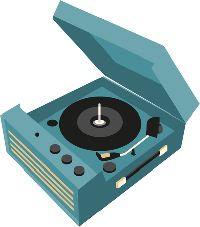 listen music: Record Players are traditional source to listen music