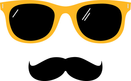Mustache styles for every men. Look at all the mustache style and decide which one is best for you. Ilustração