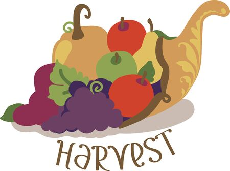 harvest cone cornucopia: Looking for the perfect centerpiece for this Thanksgiving  This festive cornucopia design is perfect on gifts table runners kitchen linens home decor and other holiday projects