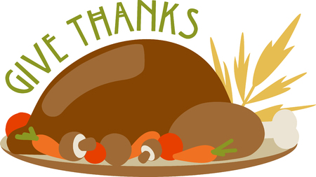 give thanks to: Is your table ready for turkey dinner This festive design is perfect on gifts table runners kitchen linens home decor and on all things Thanksgiving