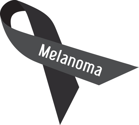 malignant: Support Melanoma awareness and treat the most common disease in United States. Save your skin with this design by Embroidery patterns Illustration