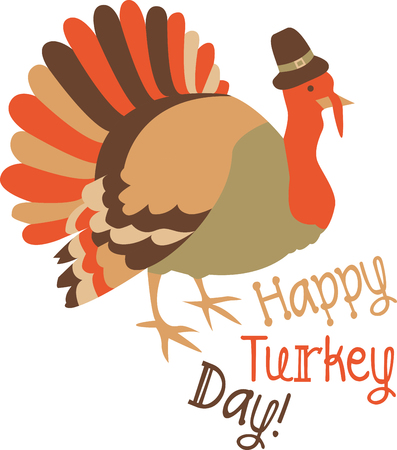 gobbler: Dig out some homegrown  Thanksgiving customs and celebrate them today.  Create memories for your kids  with this design on your holiday projects