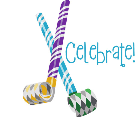 Add some pop to your party These custom party blowers are an extra special accent at any affair to have much fun. Çizim