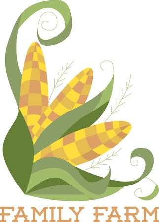autumn splendor: Its corn harvest time  Experience the splendor of autumn with this design on clothing tablecloths napkins and gifts.