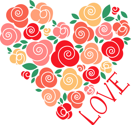 Roses of red grow in my heart and they will never wither. Pick those designs by embroidery patterns.