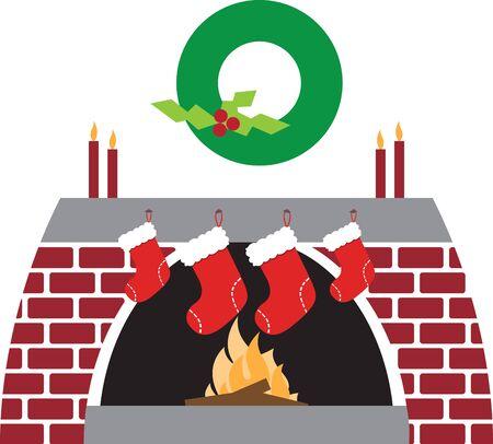 벽난로와 계단을위한 최고의 크리스마스 갈 랜드 장식의 모집을 제공합니다.