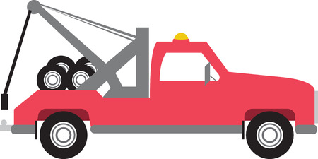Cool  Tow Truck Designs on various accessories brought to you by Embroidery Patterns
