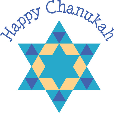 magen david: Happy Hanukkah May this season of beauty and light fill your heart and home with happiness with this Star of David designed by Embroidery patterns