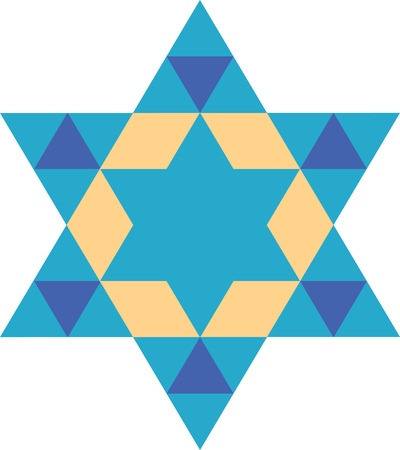 jews: Happy Hanukkah May this season of beauty and light fill your heart and home with happiness with this Star of David designed by Embroidery patterns