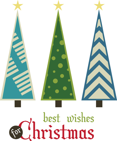 Christmas trees are a great way to keep the holiday spirit alive into the New Year.