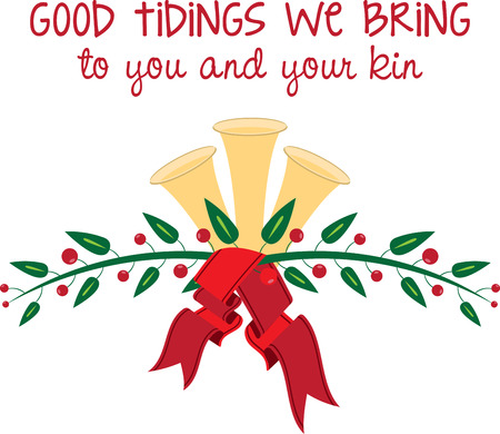 tidings: Holiday Bells is a fun holiday designed for making music and helping get into the holiday Illustration