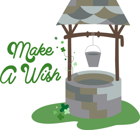 wishing: A wishing well is a term from European folklore to describe wells where it was thought that any spoken wish would be granted