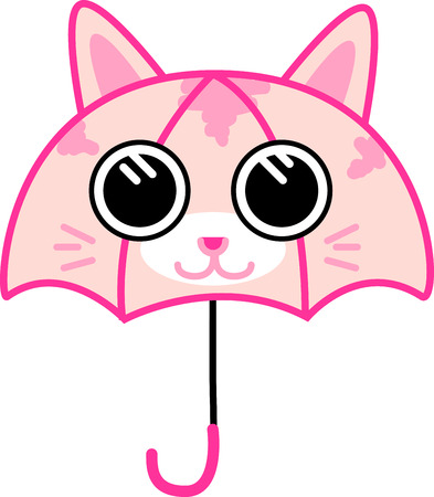 brolly: A perfect gift for Cat Lovers and kids Illustration