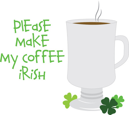 caffeinated: Start your morning with this traditional Irish coffee that boost your energy.