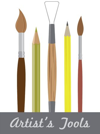 A best way to express your emotions and feelings is to paint a picture by using this Artist tools.