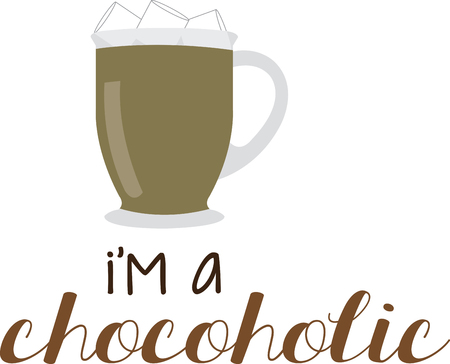 Chocolate lovers Here is a classic warmyouup treat. Enjoy the rich and delicious taste of Hot chocolates with this design by Embroidery patterns