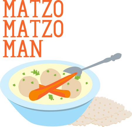 matzo balls: They are perfect for Passover.Have this traditional jewish food with your family designed by Embroidery patterns