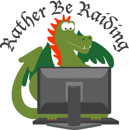 hydra: Pick these wide range of Dragon on Computer accessories specially designed for you from Embroidery patterns
