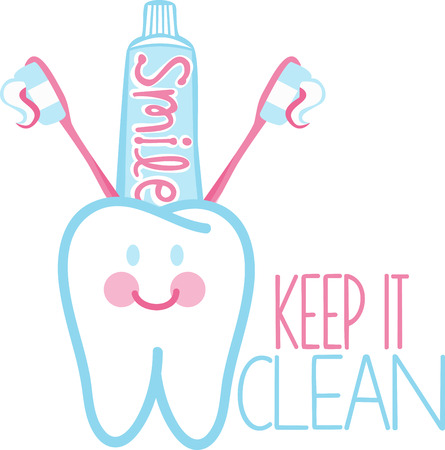 home health care: You have to take care of your tooth to keep smiling Illustration