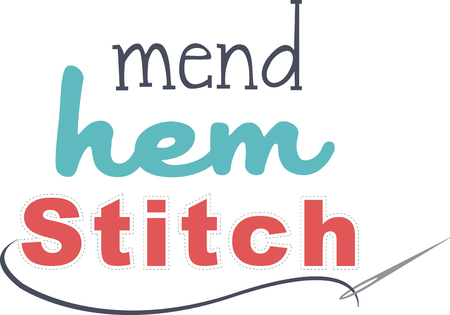 stash: stitches  perfect for using up threads and scraps of felt from your stash
