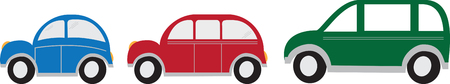roadster: make your transporting easy and safely.with this design by embroidery patterns. Illustration
