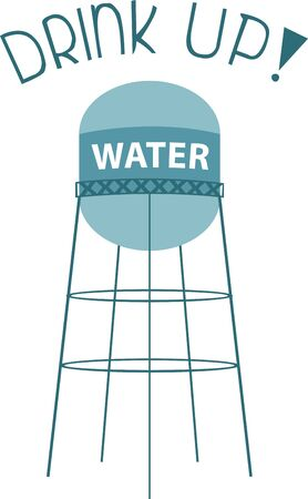 sufficient: A water tower or elevated water tower is a large elevated water storage container constructed to hold a water supply at a height sufficient to pressurize a water distribution system.