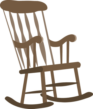 timeless: Makes this timeless piece of furniture a part of all your accessories. Exclusive Rocking Chair Designs only from Embroidery Patterns