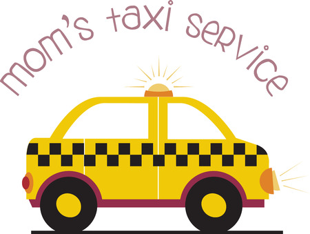 motorcar: Cute Taxi Cab Designs on various accessories brought to you by Embroidery Patterns