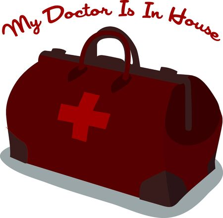 A complete instrument bag is what a doctor needs