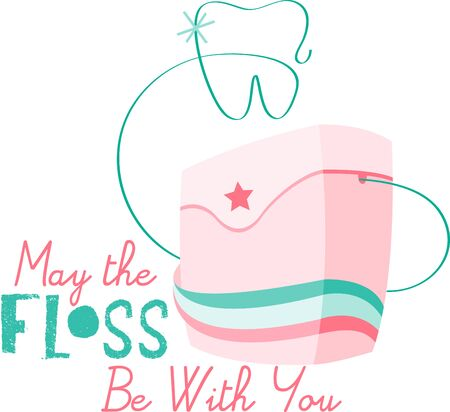 floss: Dental floss is an important tool to make our tooth clean