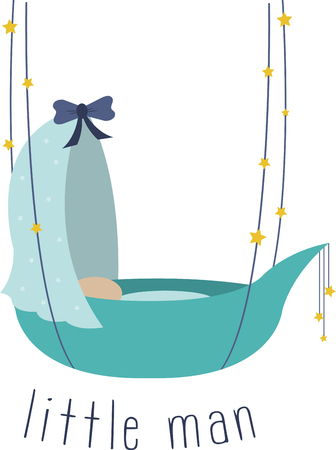 So cute Cuddle il vostro piccolo fascio di gioia con questo disegno da modelli di ricamo. Archivio Fotografico - 41568823