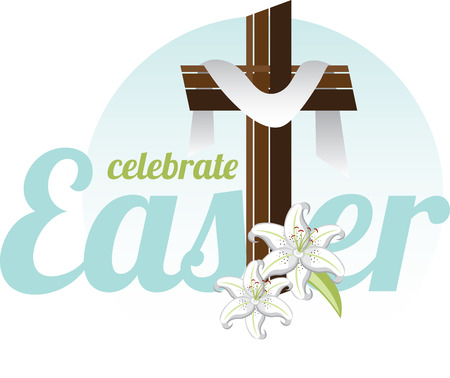 easter cross: He has risen. Have faith in him... And he always will be there for you Have a blessed and Happy Easter.