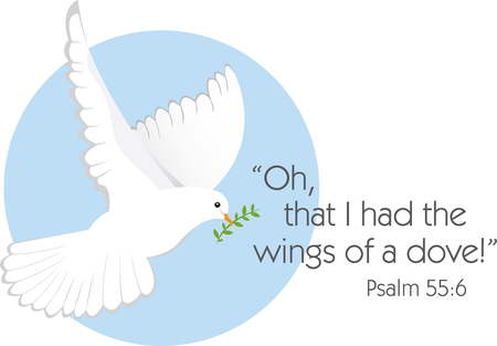 psalm: Celebrate peace this holiday season with this design by Embroidery patterns.