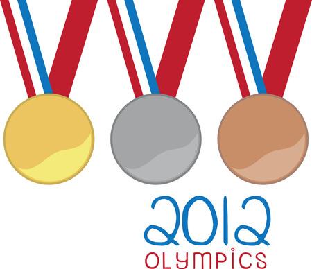 voel de opwinding van de overwinning met deze medailles