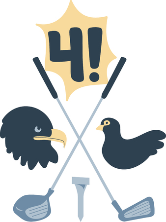 raptorial: Golf   Illustration