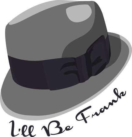 headwear: Mans Hat  Illustration