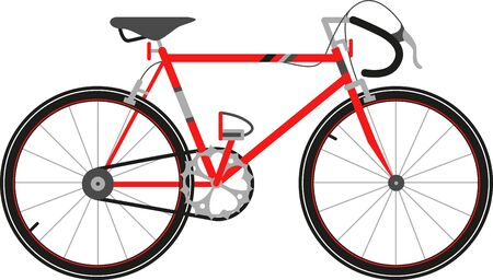get ready: Get ready for some great cycling adventures for you and your family with this Red Road Bike
