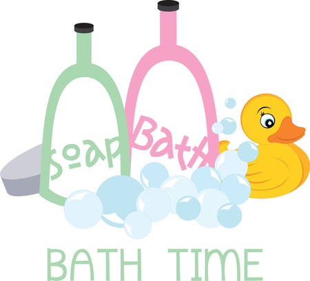 Bath time Çizim