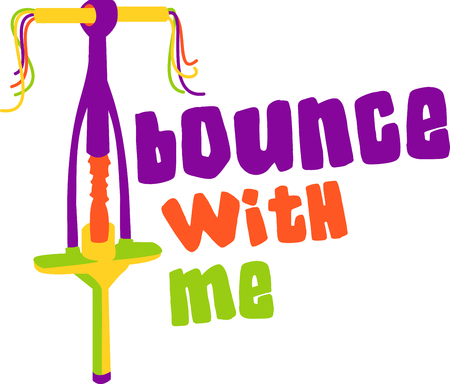 bounce: pogo fun Illustration