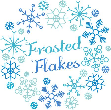 frosted: Snowflakes