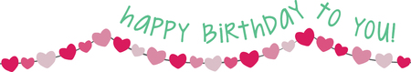 pennant bunting: Birthday