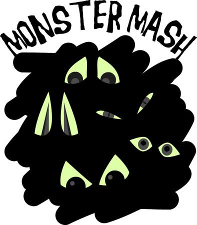 creepy crawly: Set a spooky mood with these creepy crawly spooky eyes